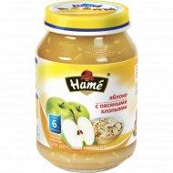 Фруктовое пюре «Hame» яблоко c овсяными хлопьями 190 г.