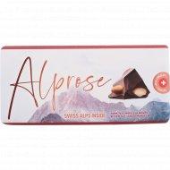 Шоколад горький «Alprose» с цельным миндалем, 100 г