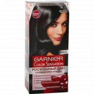 Крем-краска «Garnier» 1.0 Драгоценный Черный.