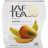 Чай черный «Jaf Tea» Mango & Banana, 100 г.
