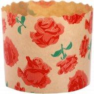Форма для куличей «Розы» 70x60, 1 шт.