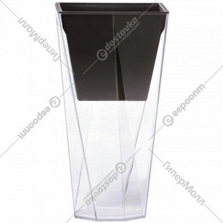 Горшок «Prosperplast» пластиковый Flower pot Urbi Twist P–Transparent