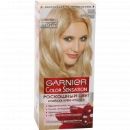 Крем-краска «Garnier Color Sensation» перламутровый шелк 10.21.