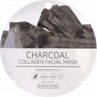 Маска для лица «Charcoal collagen Facial mask, Raraskin» 23 мл.