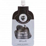 Маска-пленка «Charcoal Peel off mask Beausta» с углем, 20 мл.