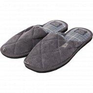 Обувь мужская домашняя «Lucky Land» 3156 M-CH-C, размер 41.
