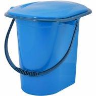 Ведро-туалет голубой, 17 л.