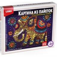 Картина из пайеток «Lori» Индийский слон