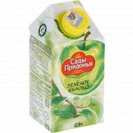 Сок «Сады Придонья» зеленое яблоко, 0.5 л.