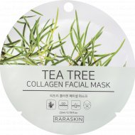 Маска для лица «Tea Tree collagen Facial mask, Raraskin» 23 мл.