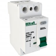 Дифференциальный выключатель «Schneider Electric» DEKraft, 14052DEK