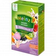 Каша гречневая «Heinz» с грушей, абрикосом и смородинкой 200 г.