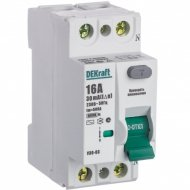 Дифференциальный выключатель «Schneider Electric» DEKraft, 14053DEK