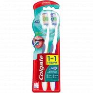 Зубная щетка «Colgate» 360 суперчистота, 1+1 шт.