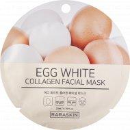 Маска для лица «Egg White collagen Facial mask, Raraskin» 23 мл.