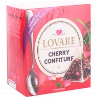 Чай черный и зеленый «Lovare» Cherry Confiture, 24 г.