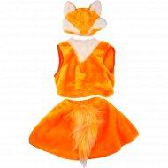 Костюм маскарадный «Лисичка» для девочек дошкольного возраста.