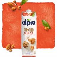 Напиток миндальный «Alpro» Almond no sugars, обогащенный кальцием, 1 л