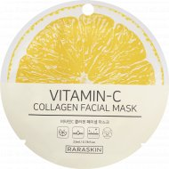 Маска для лица «Vitamin-C collagen Facial mask, Raraskin» 23 мл.