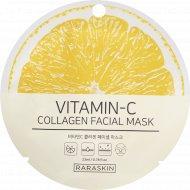 Маска для лица «Vitamin-C collagen Facial mask, Raraskin» 23 мл.