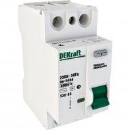 Дифференциальный выключатель «Schneider Electric» DEKraft, 14055DEK