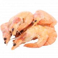 Креветки «Vannamei» королевские, варено-мороженные, 1 кг., фасовка 0.35-0.45 кг