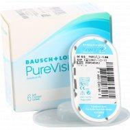 Линзы контактные «PureVision 2 HD» Bausch+Lomb, r-8.6/d-1.0.