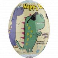 Детское бурлящее яйцо «Happy dino» с растущим динозавром, 130 г.