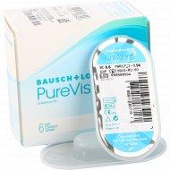 Линзы контактные мягкие «PureVision 2» balafilcon A, r8,6/d-3,5.