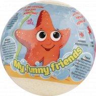 Детский бурлящий шар «My funny friends» с растущей игрушкой, 130 г.
