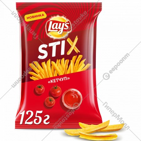 Чипсы «Lay's» STIX, кетчуп, 125 г.