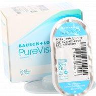 Линзы контактные «PureVision 2 HD» Bausch+Lomb, r-8.6/d-1.75.