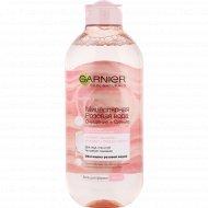 Мицеллярная вода «Garnier» розовая вода, 400 мл.