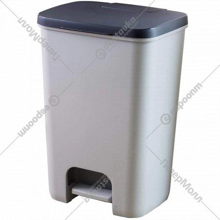 Контейнер для мусора «Curver» Essentials с педалью, лотком 20 л