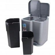 Контейнер для сортировки мусора «Curver» Pedalbin 2, серый