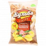 Чипсы картофельные «Бульба Chips» деревенские копчености, 150 г.