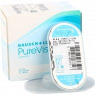 Линзы контактные «PureVision 2 HD» Bausch+Lomb, r-8.6/d-2.5.