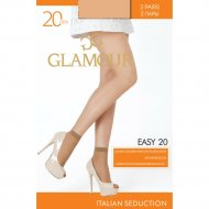 Носки женские «Glamour» Easy, 20 unica miele.