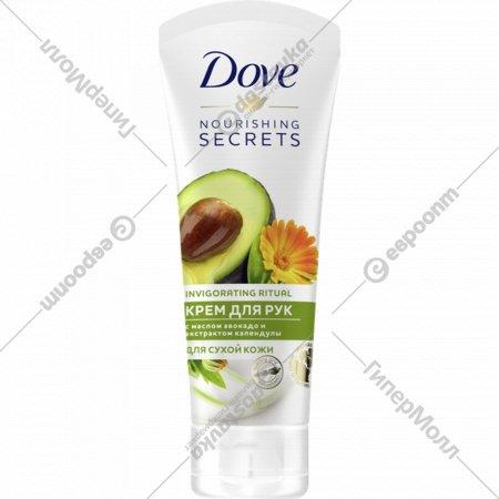 Крем для рук «Dove» масло авокадо и экстракт календулы, 75 мл.