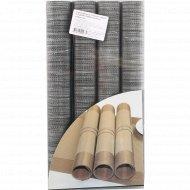 Сервировочные плетеные коврики 4 шт.