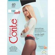 Колготки женские «Conte» Top Soft, 40 den, размер 3, nero
