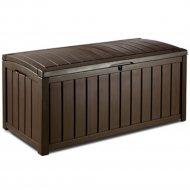Сундук «Keter» Glenwood Deck Box, коричневый.