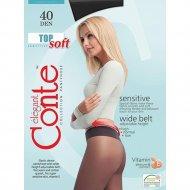 Колготки женские «Conte» Sensitive 40 den, nero