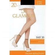 Носки женские «Glamour» Easy, 20 unica nero.