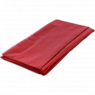 Скатерть одноразовая бордовая, 110х140 см, 1 шт.