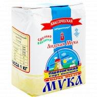 Мука пшеничная «Лидская мука» М 54-25 классическая, 1 кг.