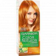 Крем-краска для волос «Garnier» Color Naturals, тон 7.4, золотисто-медный