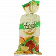 Конфеты желейные «Bonny Fruit» цитрусовый микс, 200 г.