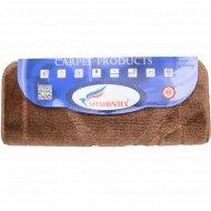 Набор ковриков для ванной комнаты, 50x80+50x50 см, коричневый.