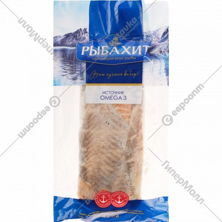Мясо лосося, обрезь, мороженое, 1 кг., фасовка 0.59-0.82 кг